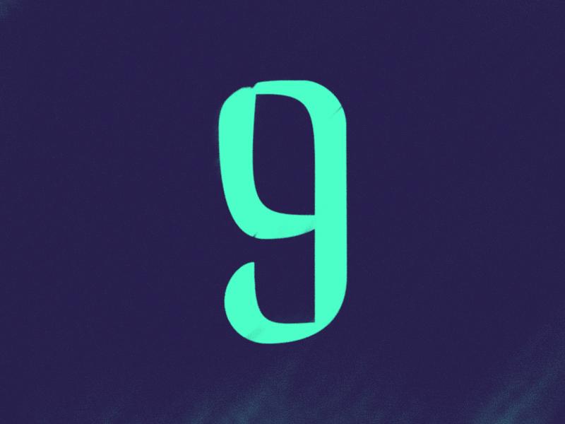 9 typehue lettering logo design numerals type design typography type