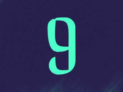 9 by Jacob Morrison via dribbble