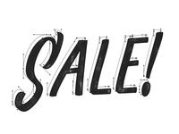 Sale Lettering