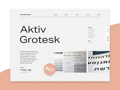 Aktiv Grotesk designs, themes, templates and downloadable