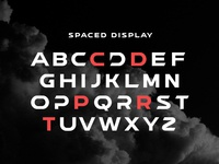 SPACED Custom Display Typeface