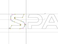 SPACED Custom Logotype