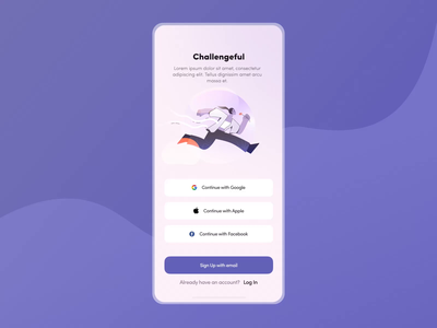 Hobby Booster Mobile App Animation animation