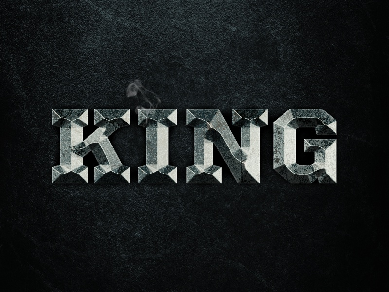 King - Free Photoshop Layer Style download free layer style styles grunge psd photoshop king