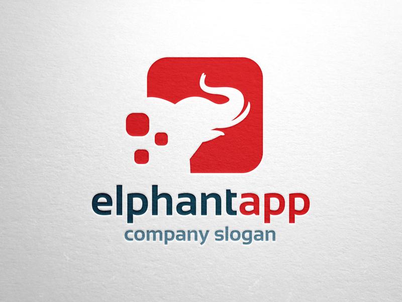 elephant app logo by alex broekhuizen dribbble dribbble
