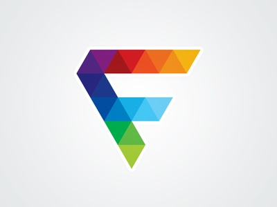 letter f logo template by alex broekhuizen dribbble