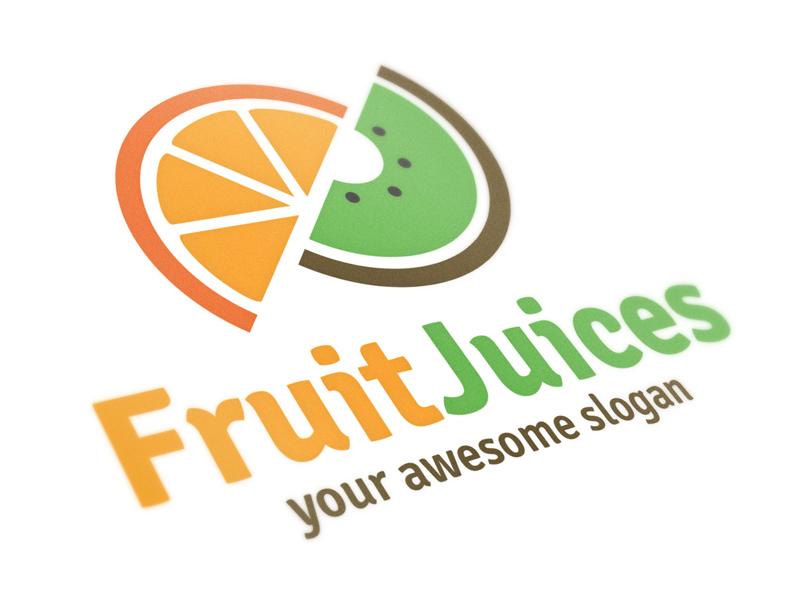 Fruit Juices Logo Template by Alex Broekhuizen | Dribbble ...