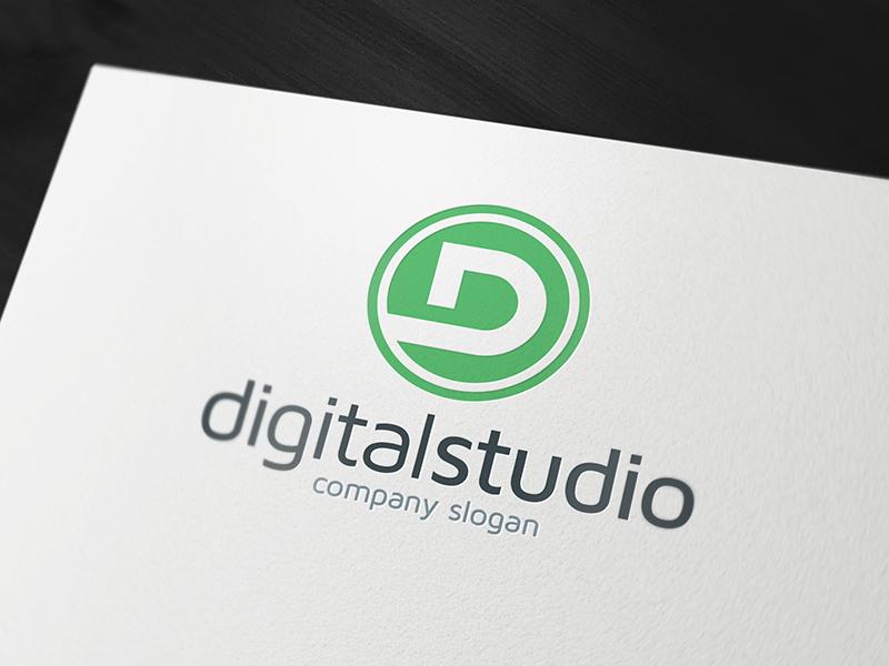 D Logo Design Download
