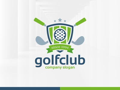 golf club logo template by alex broekhuizen dribbble