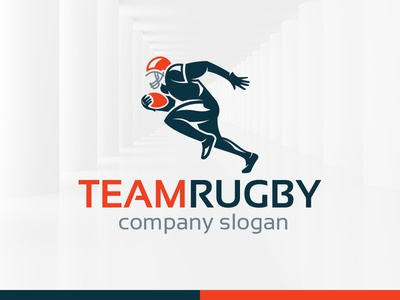 Team Rugby Logo Template by Alex Broekhuizen - Dribbble