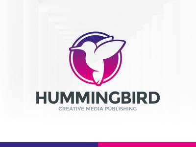 Humming Bird Logo Template