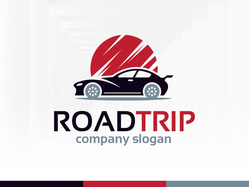 road trip logo template by alex broekhuizen dribbble dribbble