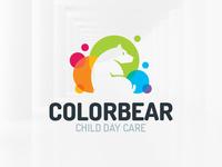 Color Bear Logo Template