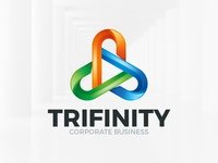 Triple Infinity Logo Template