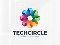 Tech Circle Logo Template