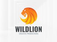 Wild Lion Logo Template