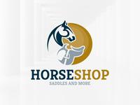 Horse Shop Logo Template