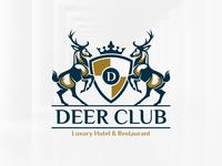 Deer Club Logo Template