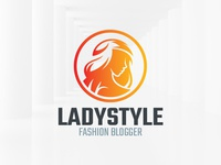 Lady Style Logo Template
