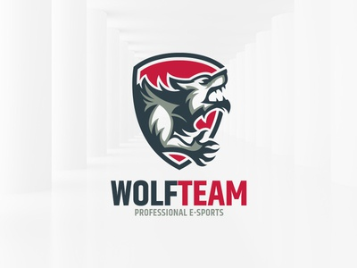 Wolf Team Logo Template by Alex Broekhuizen - Dribbble