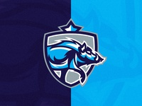 Boar Crest Logo Template