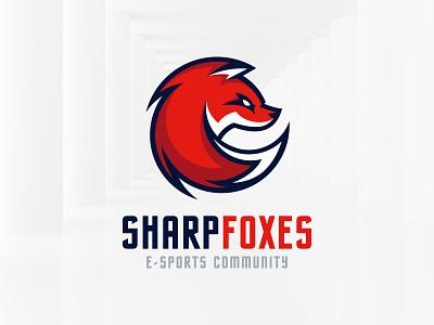 Sharp Fox Logo Template sale sharp gaming esports template vector logo fox
