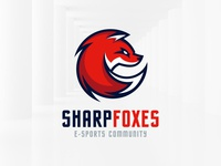 Sharp Fox Logo Template