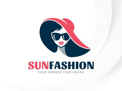 Summer Fashion Logo Template by Alex Broekhuizen - Dribbble