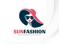 Summer Fashion Logo Template