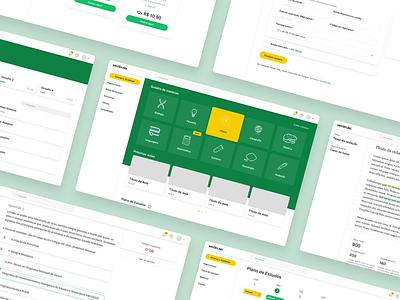 Vestibulei educational school study platform courses education ux design front end ui