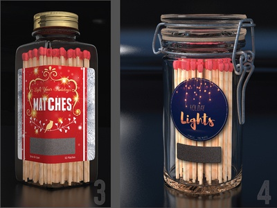 Holiday Matches 3d