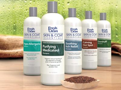 Fresh 'n Clean Skin & Coat Bottles