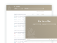 PirateBay Redesign