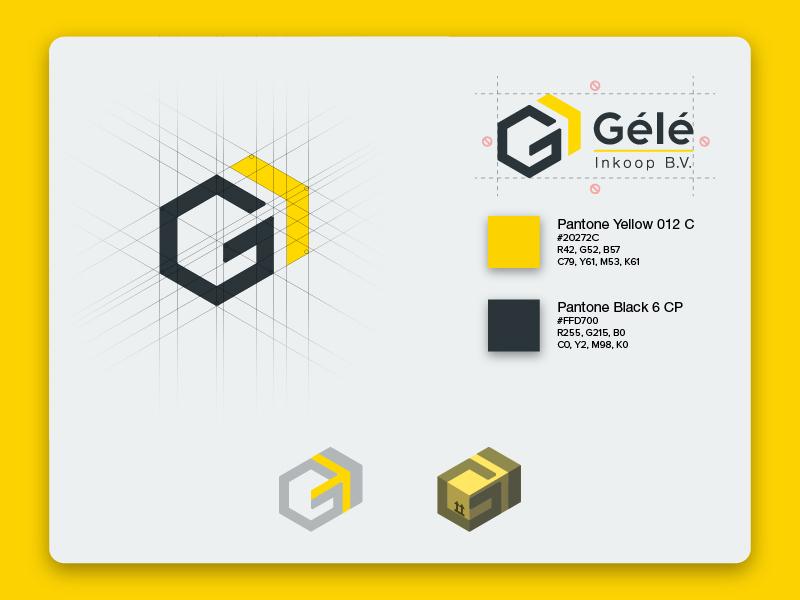 Gélé logo design pantone specifications design logo export wholesale flower