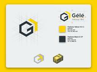Gélé logo design