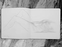 // Figure Study - Sketchbook Series //