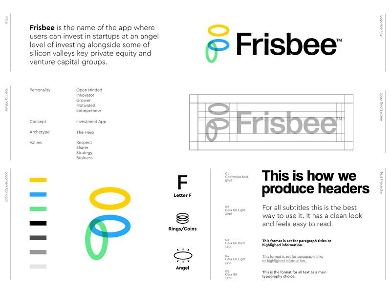 Frisbee - Logo Design 👼🏻
