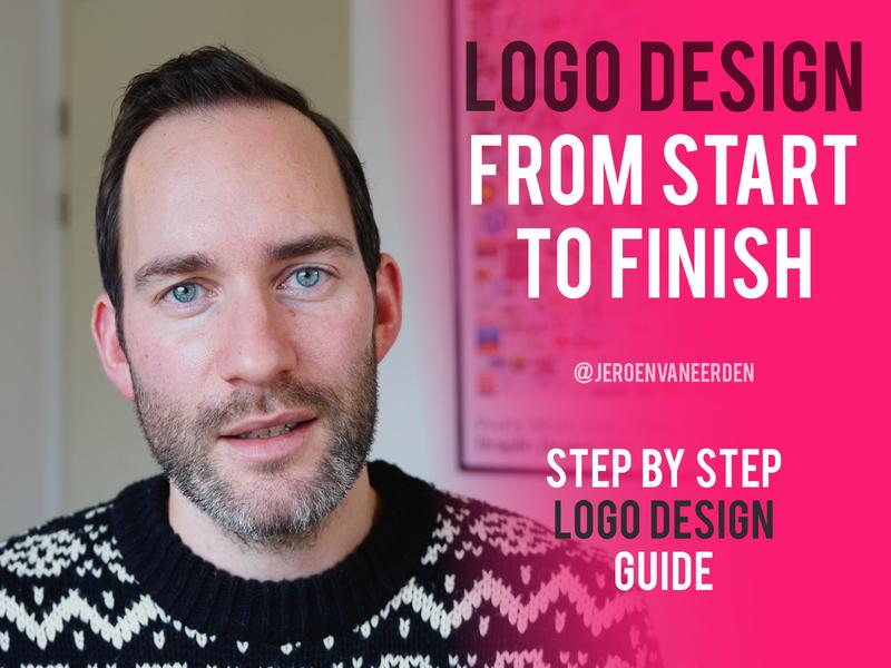 Logo Design from Start to Finish 📺 freelancer tutorial client work logo steps youtube logo process design process designer process logo logo design