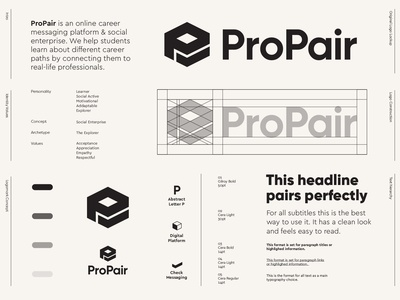 ProPair - Logo Design / Part 3 ✅