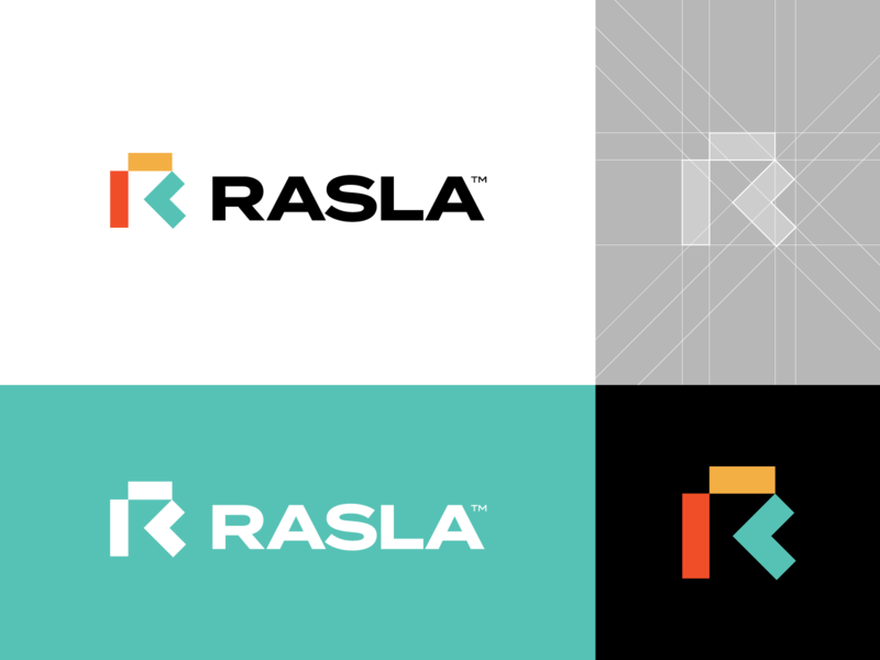 Logo Proposal v3 for Rasla Logistics 🟧⁣⁣