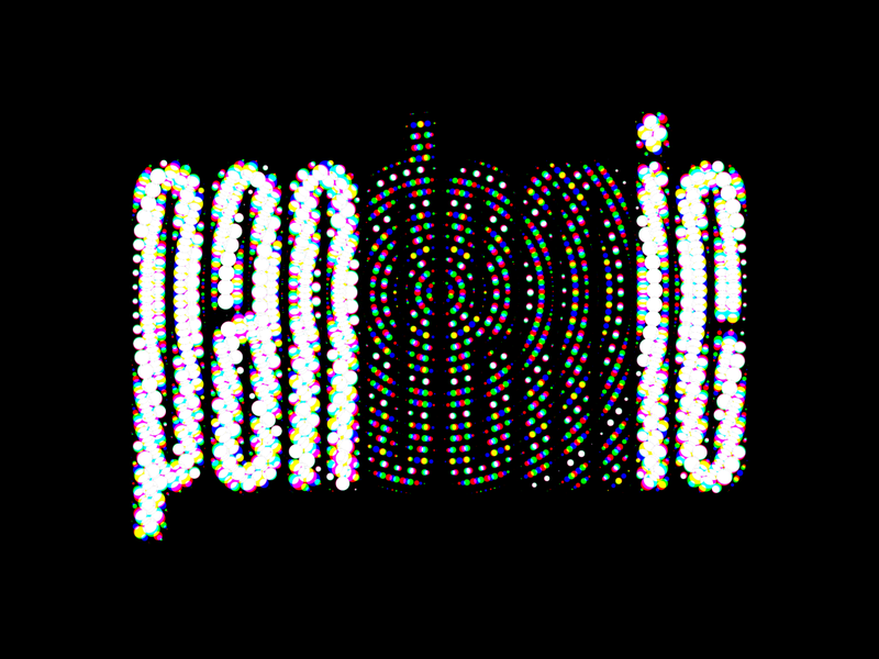 Pandemic 🦠 lettering letters typography freelance creative support hope logo wordmark panic pandemic