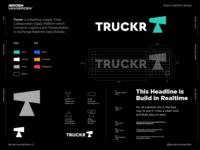 TRUCKR - Logo Design 📯