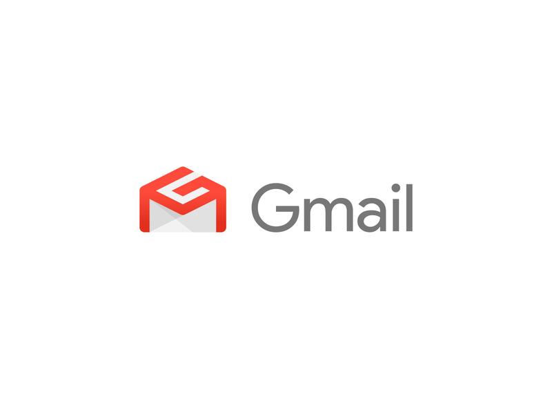 Gmail - Logo Redesign 📩 home playoff concept design logo concept rebrand branding brand envelope gm monogram logos logo redesign gmail logo gm google design google gmail