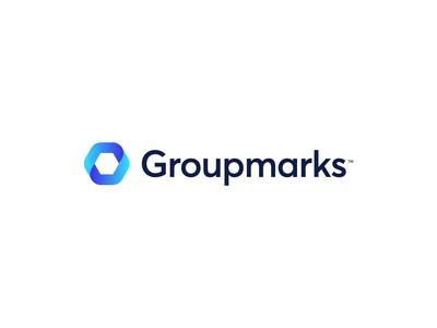 Groupmarks - Logo Animation - Light Edition 🔄 hexagon bookmark mark group marks group after effects aftereffects animate logo motion logo animation animation motion visual identity branding logo design logo icon