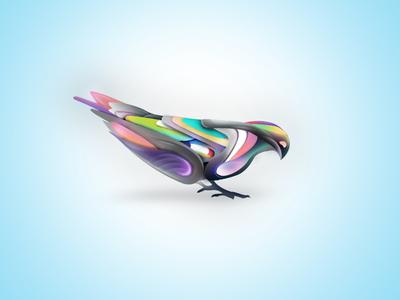 This bird has flown.