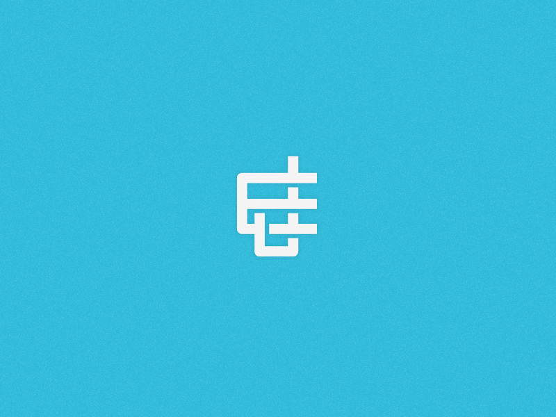 JE Monogram.  idea monogram personal j e logo brand mark