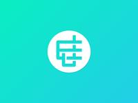 New personal logo - J+E Monogram.