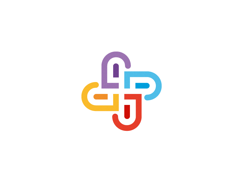 MediaConnect Icon Concept.   media connect team together branding icon mark custom shape