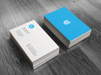 Personal Business Card.