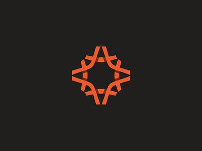 Star Brand.  star branding mark logo jeroen van eerden shade shadow symbol